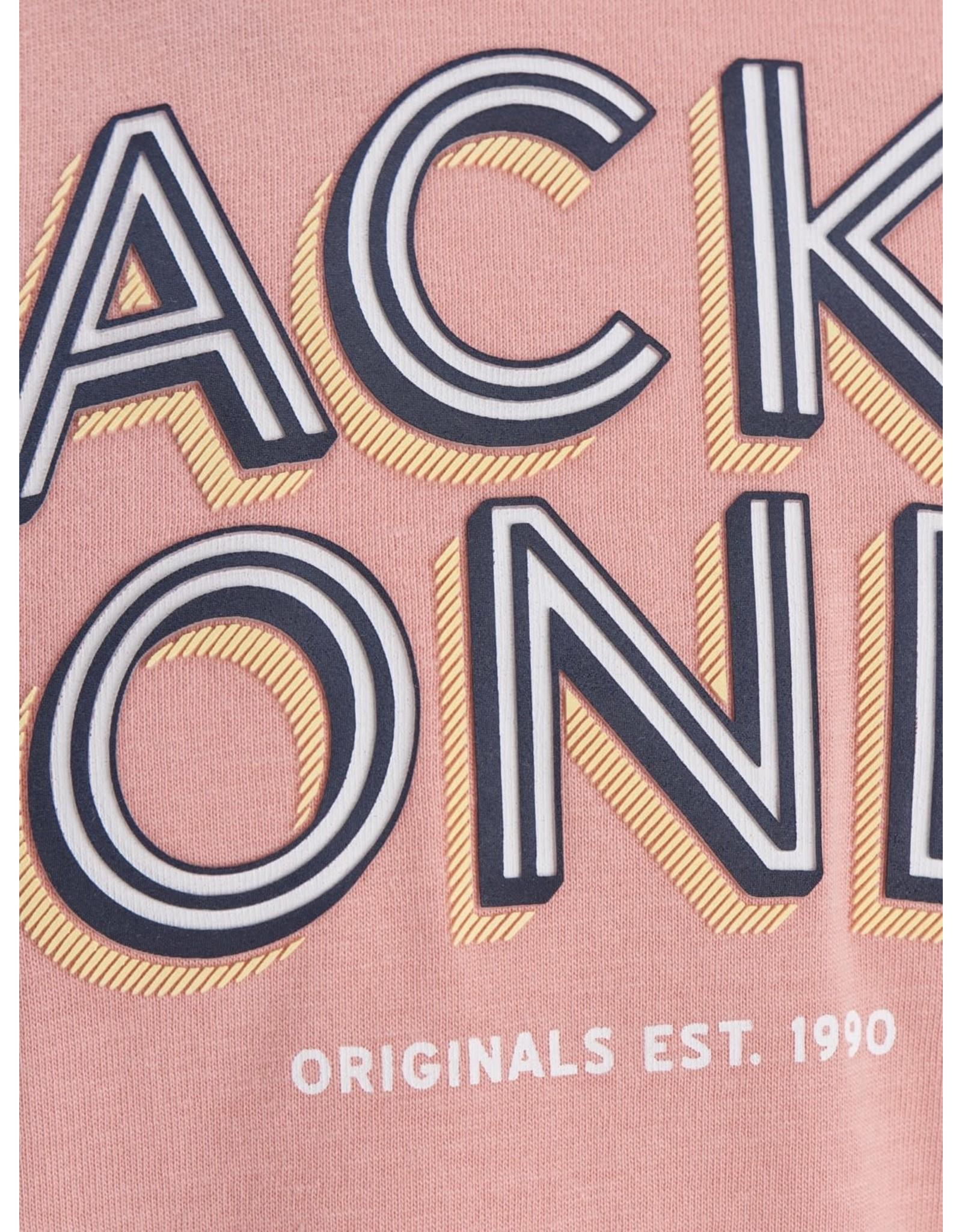 Jack & jones junior T-shirt Venicebeach crew neck rose