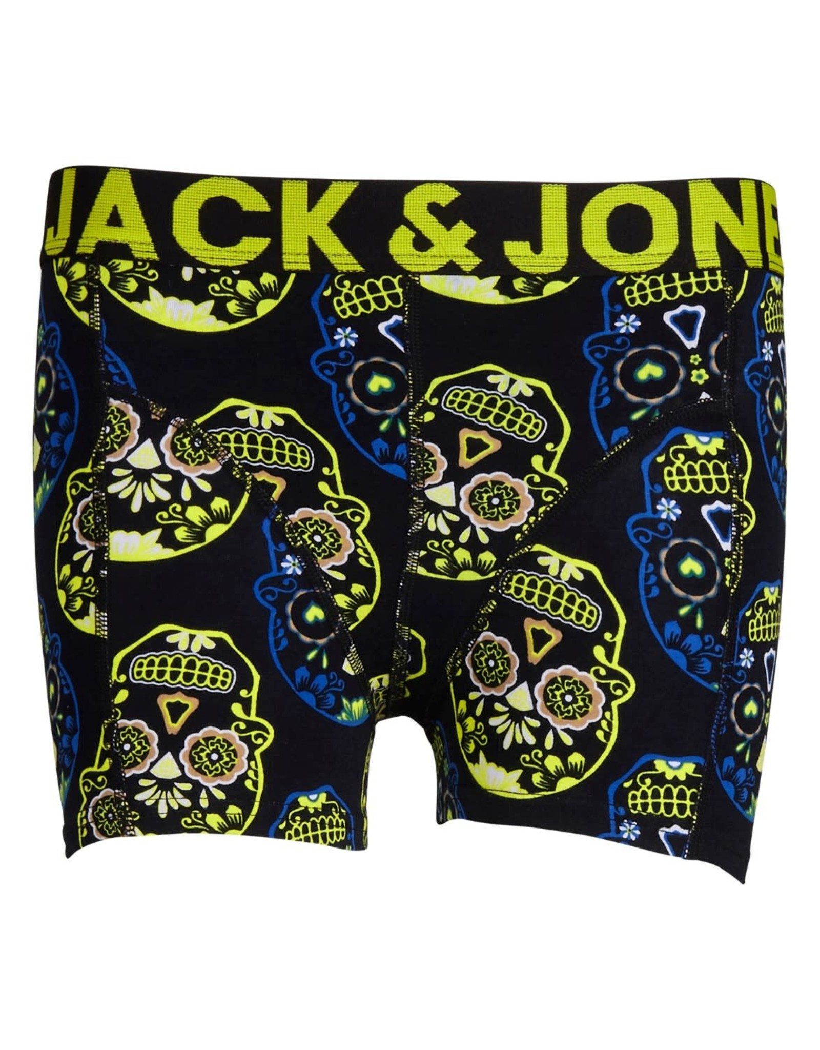 Jack & jones junior Boxershort colorfull skull trunk per 3 verpakt