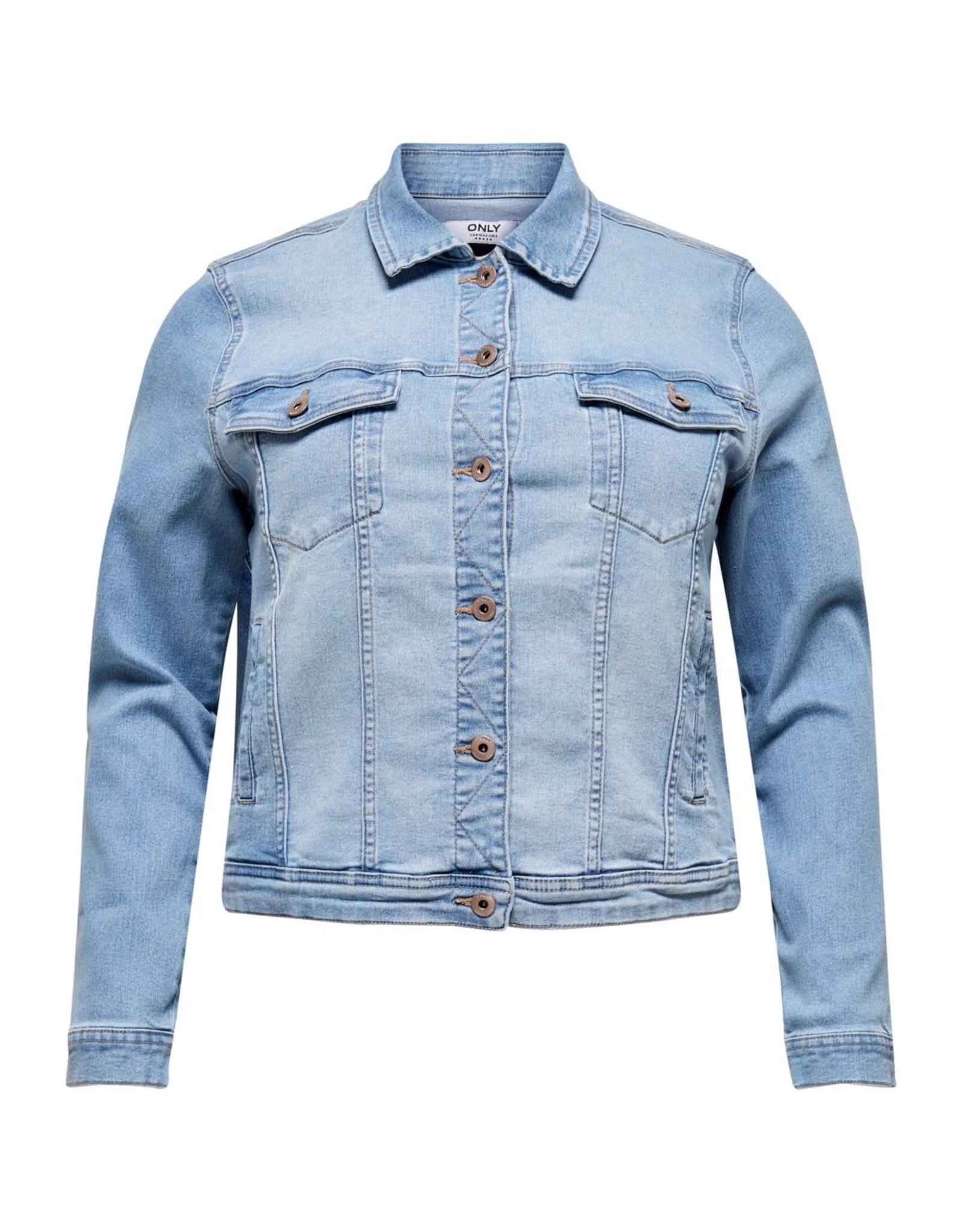 Carmakoma Jas lock dnm jeans blauw