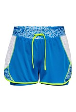 Only play Short Pangilia life sport blauw