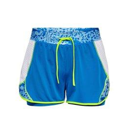 Only play Short Pangilia life sport blauw