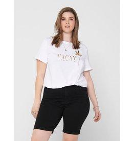 Carmakoma T-shirt Foil life ss wit