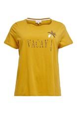 Carmakoma T-shirt Carfoil life ss geel