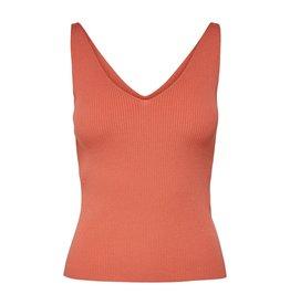 Jacqueline De Yong Top Nanna knit oranje