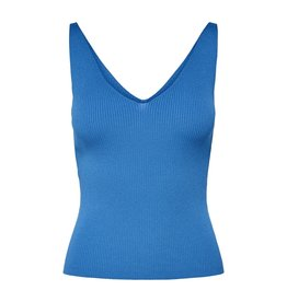 Jacqueline De Yong Top Nanna knit blauw
