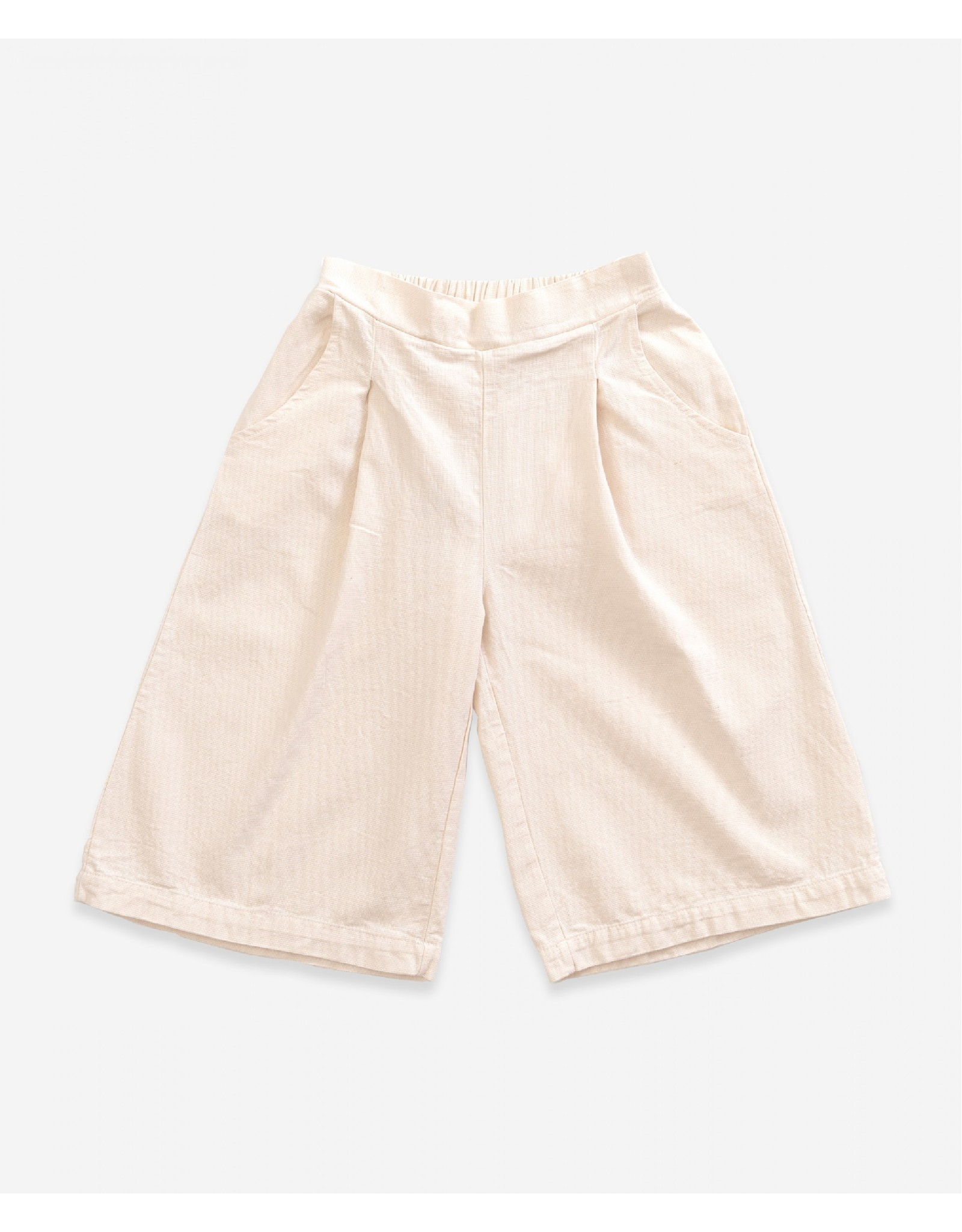 Play up Broek Culotte creme wit