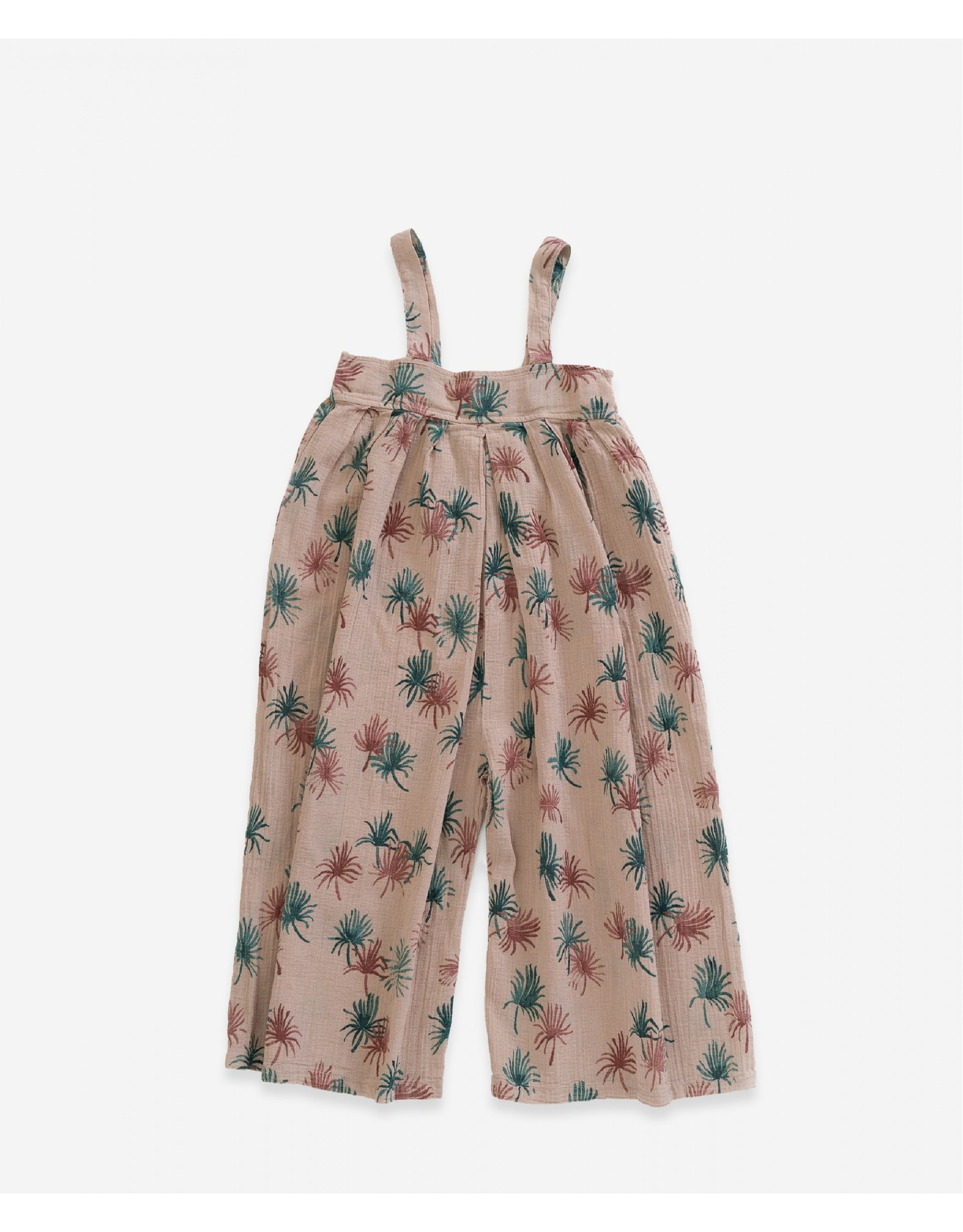 Play up Jumpsuit printed woven zand / bruin