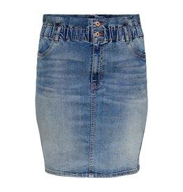 Carmakoma Rok amy life skirt jeans blauw