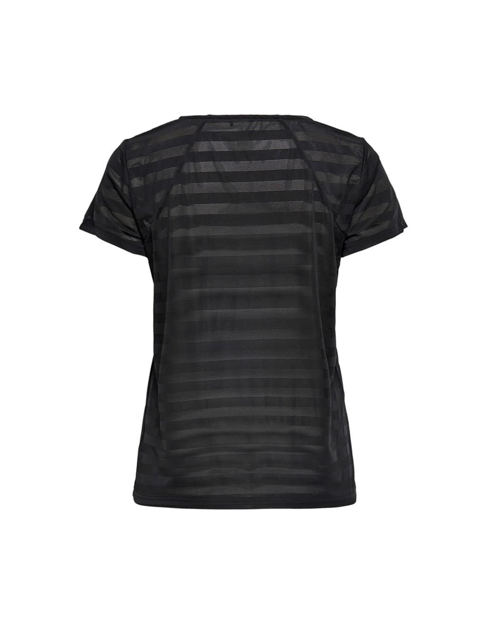 Only play Shirt Sue V-neck sport zwart