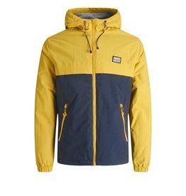 Jack & jones junior Jas jacket Tam geel / blauw