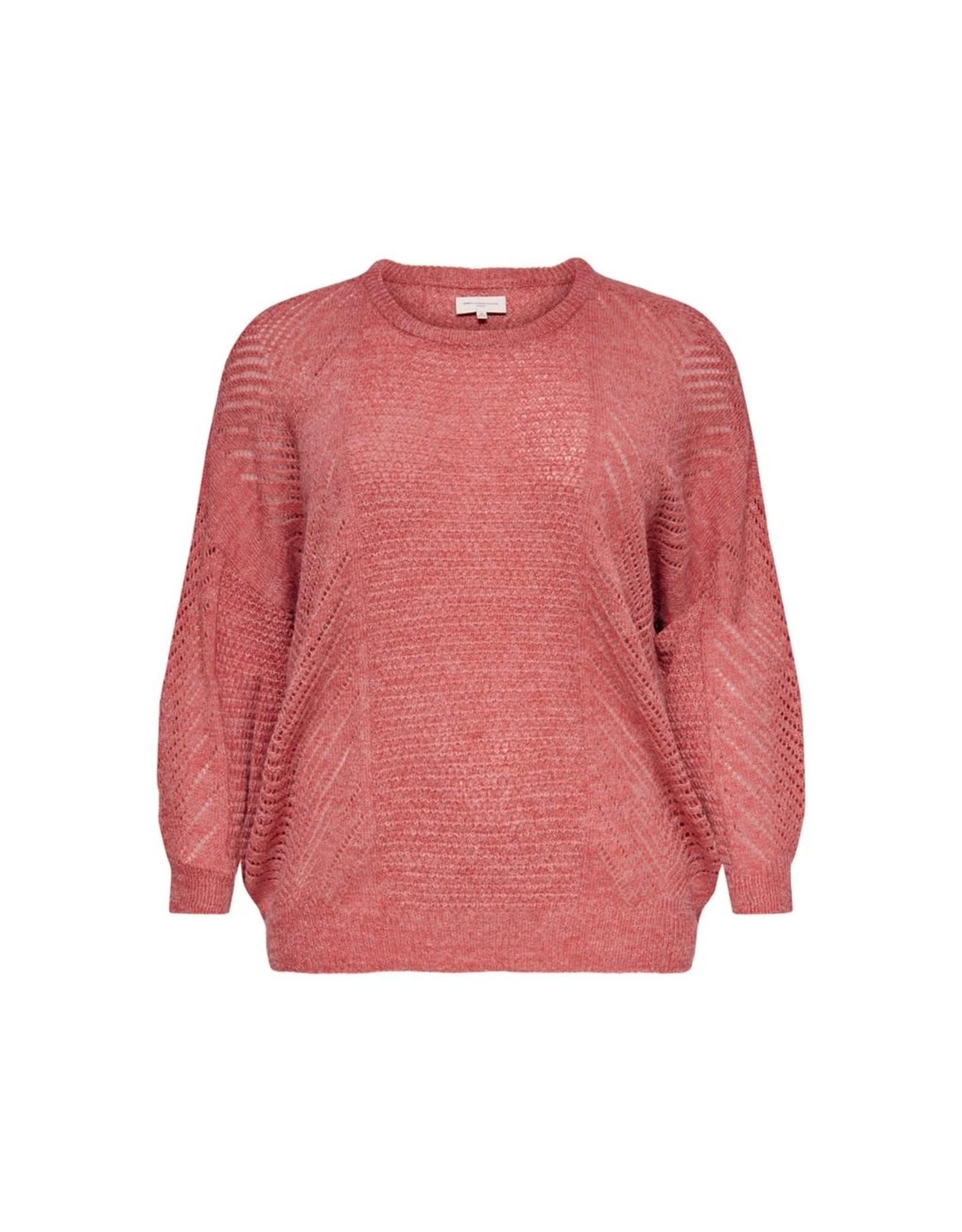 Carmakoma Pullover Rose knit roze