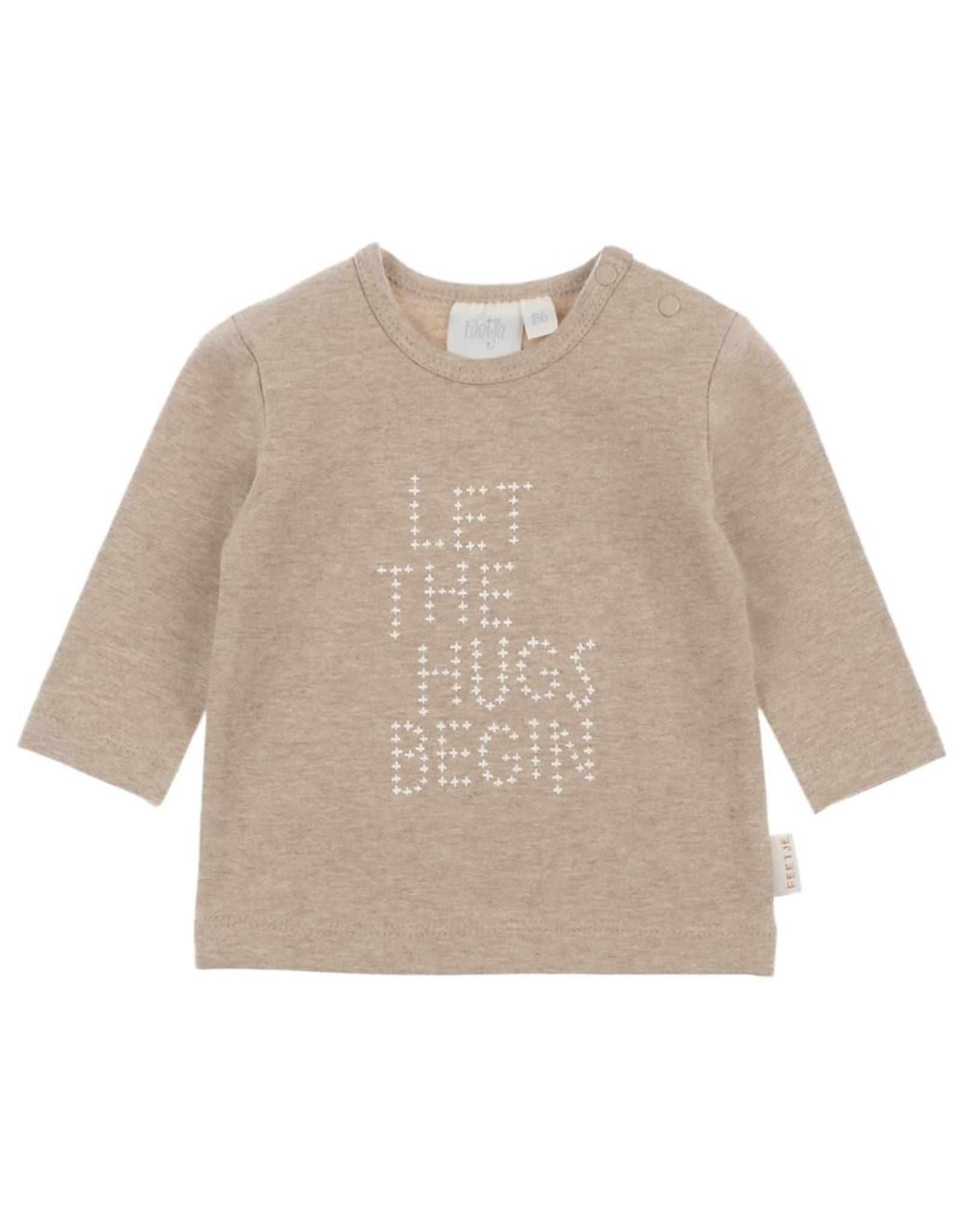 Feetje Longsleeve hugs beige