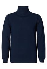 Petrol Coll trui knitwear blauw