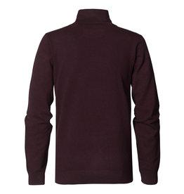 Petrol Coll trui knitwear bordeaux