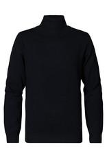 Petrol Coll trui knitwear zwart