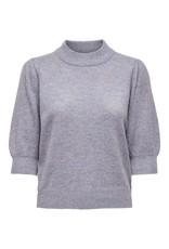 Jacqueline De Yong Pullover Rue 2/4 knit paars