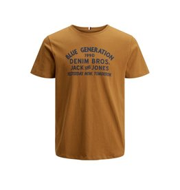 Jack & jones junior T-shirt standard crew bruin
