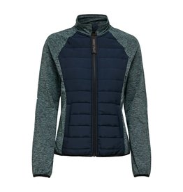 Only play Jas sport Jolet padded groen