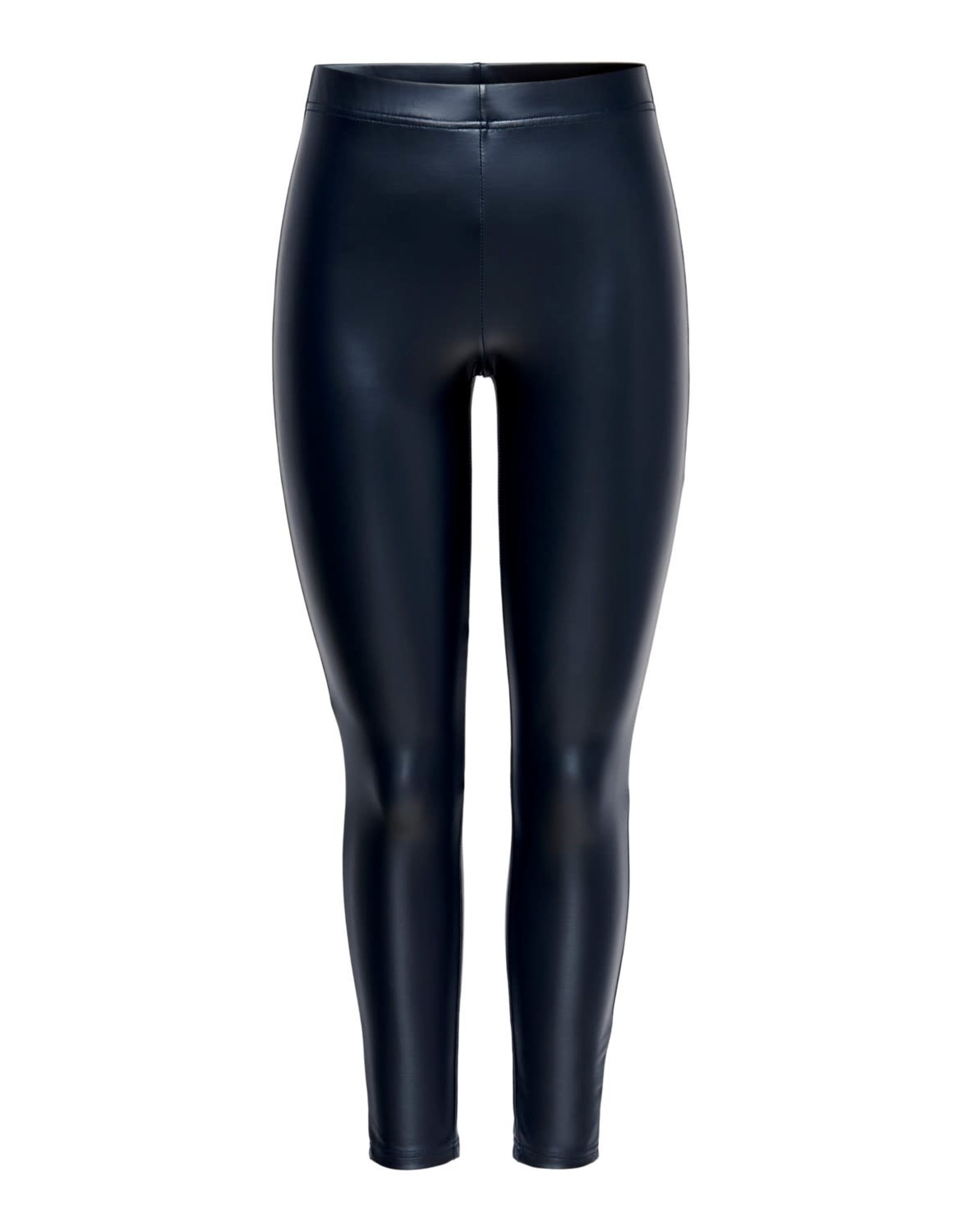 Jacqueline De Yong Legging Stine PU zwart