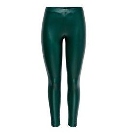 Jacqueline De Yong Legging Stine PU groen