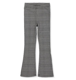Kids Only Broek Crystal flaired geruit bruin