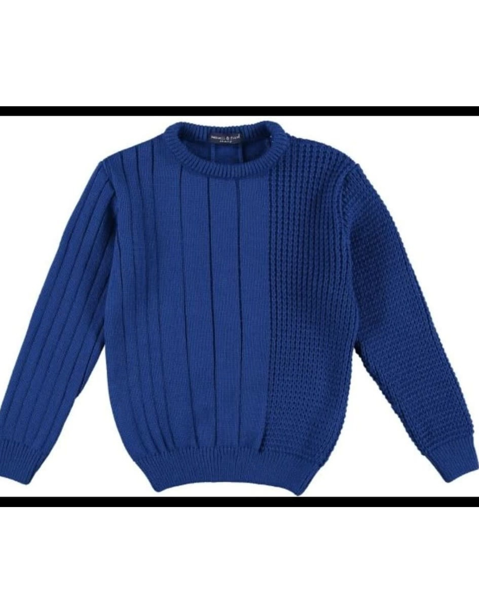 Manuell & frank Pullover knit hoogblauw
