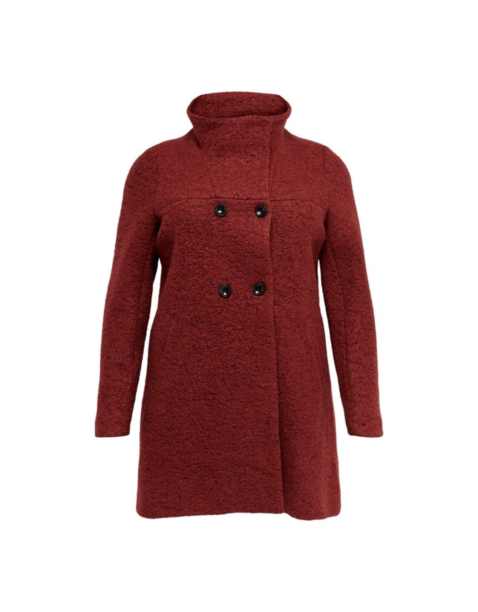 Carmakoma Jas Newsophia wool rood