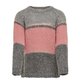 Kids Only Pullover Terrie roze / grijs