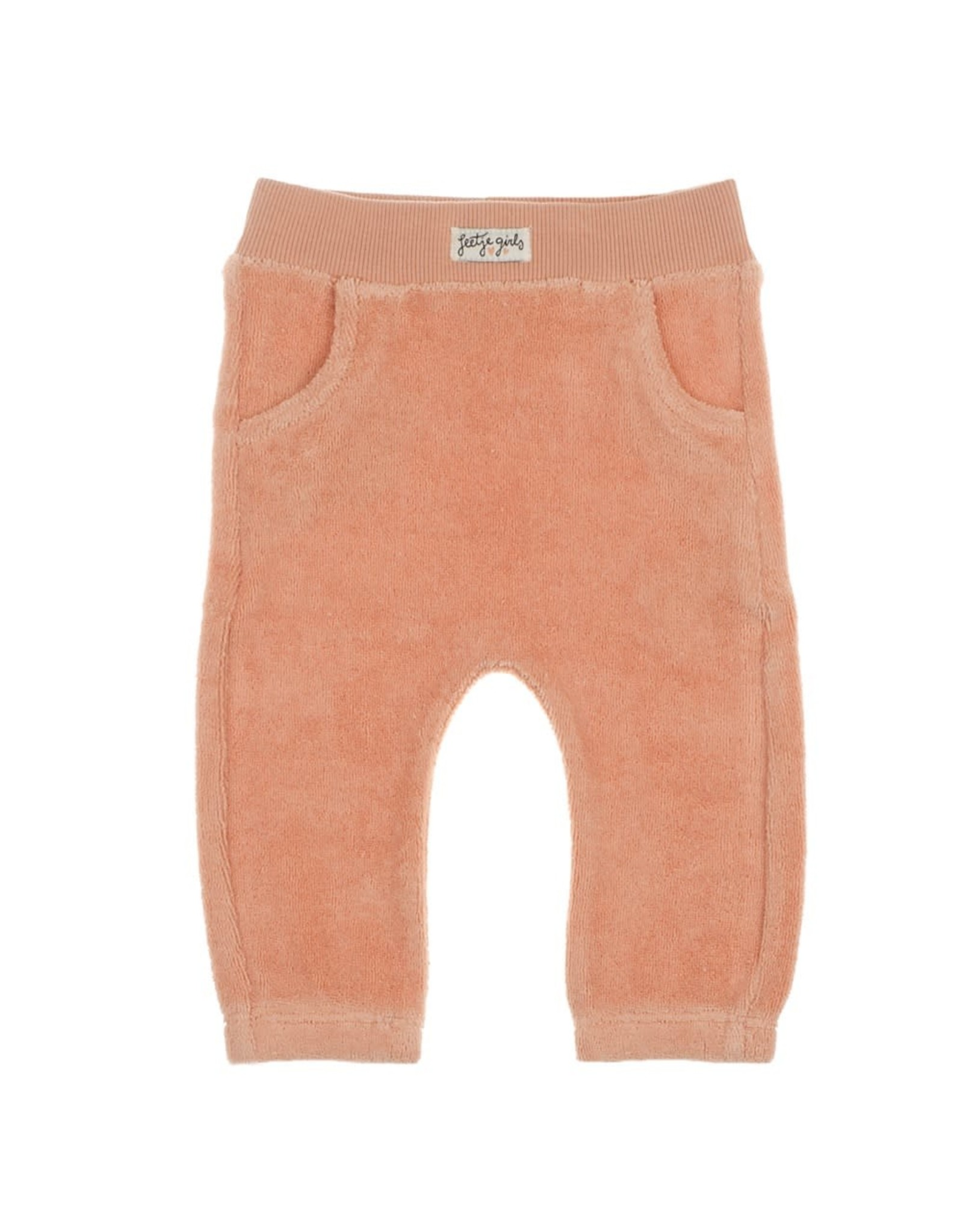 Feetje Broek - Little and Loved roze