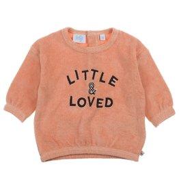 Feetje Sweater - Little and Loved roze