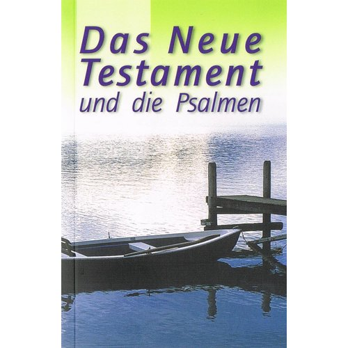 NIET MEER LEVERBAAR. Duits : Nieuw Testament met Psalmen, Elberfelder vertaling