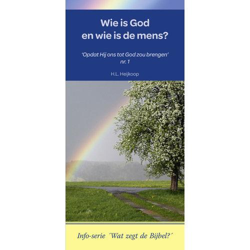 Info-serie 'Wat zegt de Bijbel': Wie is God en wie de mens?
