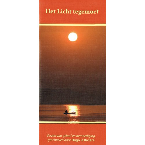 Het Licht tegemoet gedichtenbundeltje