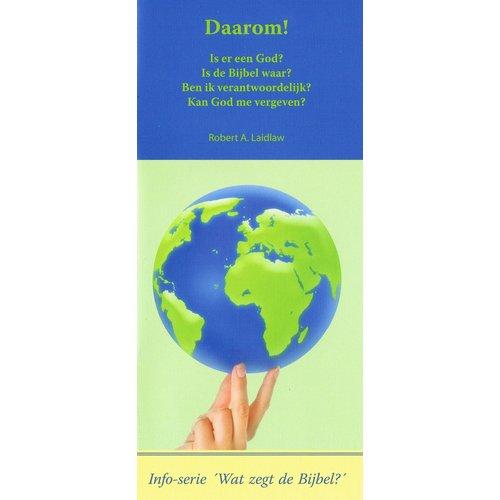 Info serie 'Wat zegt de Bijbel': Daarom!