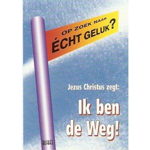 Poster: 'Op zoek naar echt geluk?; A-4 formaat