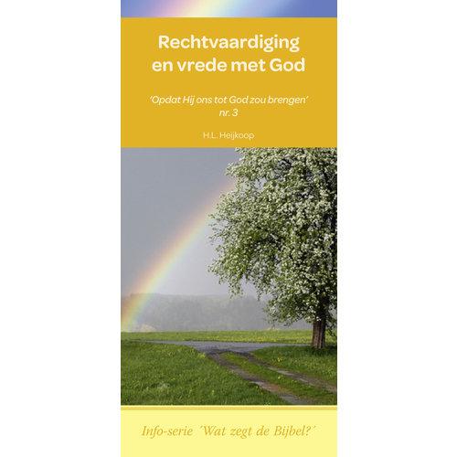 Info-serie 'Wat zegt de Bijbel': Rechtvaardiging en vrede met God