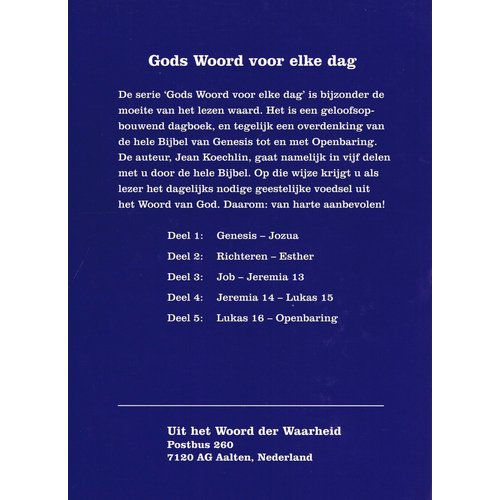 Gods Woord voor elke dag, deel 4 (Jeremia 14-Lukas 15)
