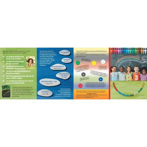 Traktaat: Kleuren vertellen jou iets over God! speciaal voor kinderen