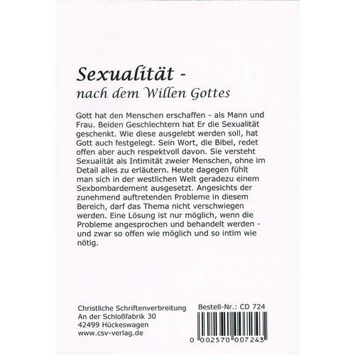 CD - Sexualität nach dem Willen Gottes (2 CD)