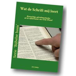 Serie 'Bijbelse basis': Wat de Schrift mij leert