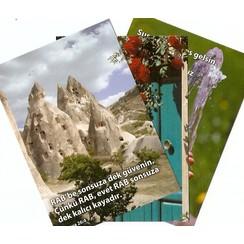 Mixpakket enkelvoudige kaarten: TURKS