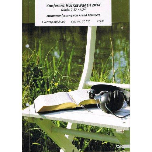 CD - Zwsammenfassung der Konferenz Hückeswagen 2014 (2 CD)