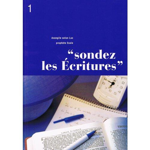 Sondez les Ecritures 1