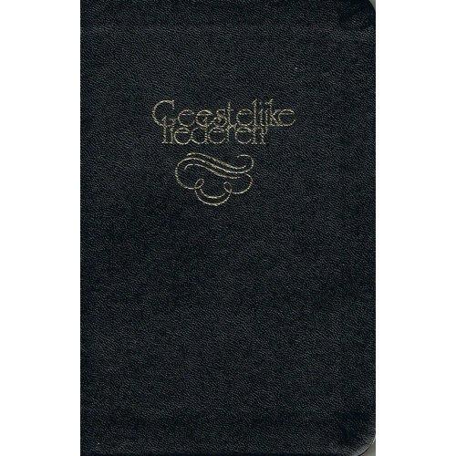 Bundel 236 Geestelijke Liederen, groot formaat, leer, goudsnede