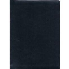 Bijbel Duits : Bijschrijfbijbel, Elberfelder vertaling, kunstleer, blau