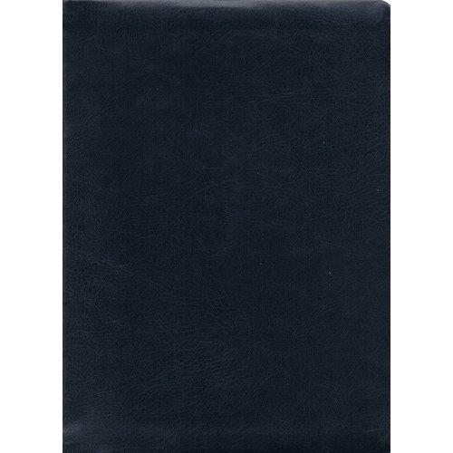 Duits : Bijschrijfbijbel, Elberfelder vertaling, kunstleer, blau