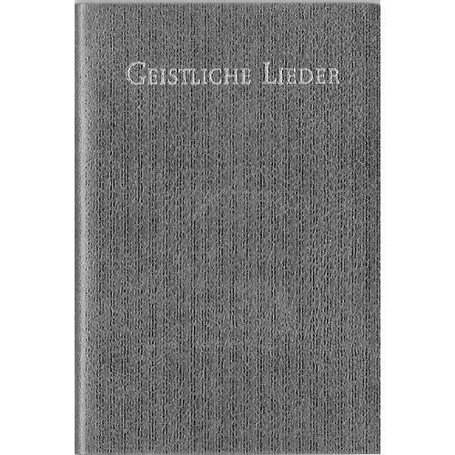 Geistliche Lieder (Duitse uitvoering), leer, goudsnede