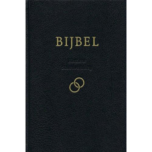 Huwelijksbijbel, Herziene Statenvertaling, Zwart, Goudsnee,