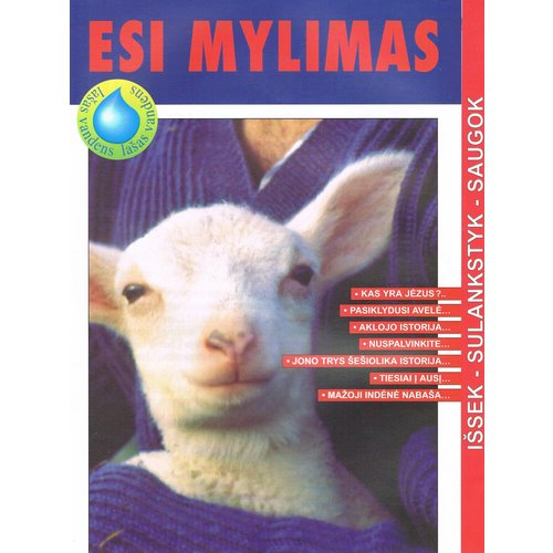 Litouws : Kindermagazine Hij houdt van je