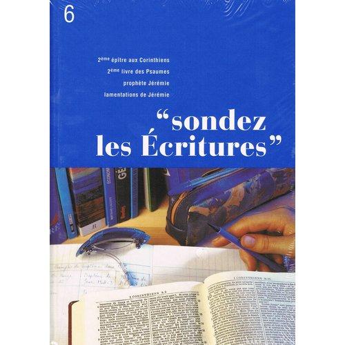 Sondez les Ecritures 6
